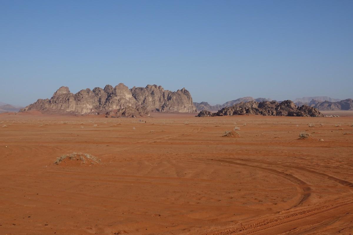 Petra, poušť a jehněčí