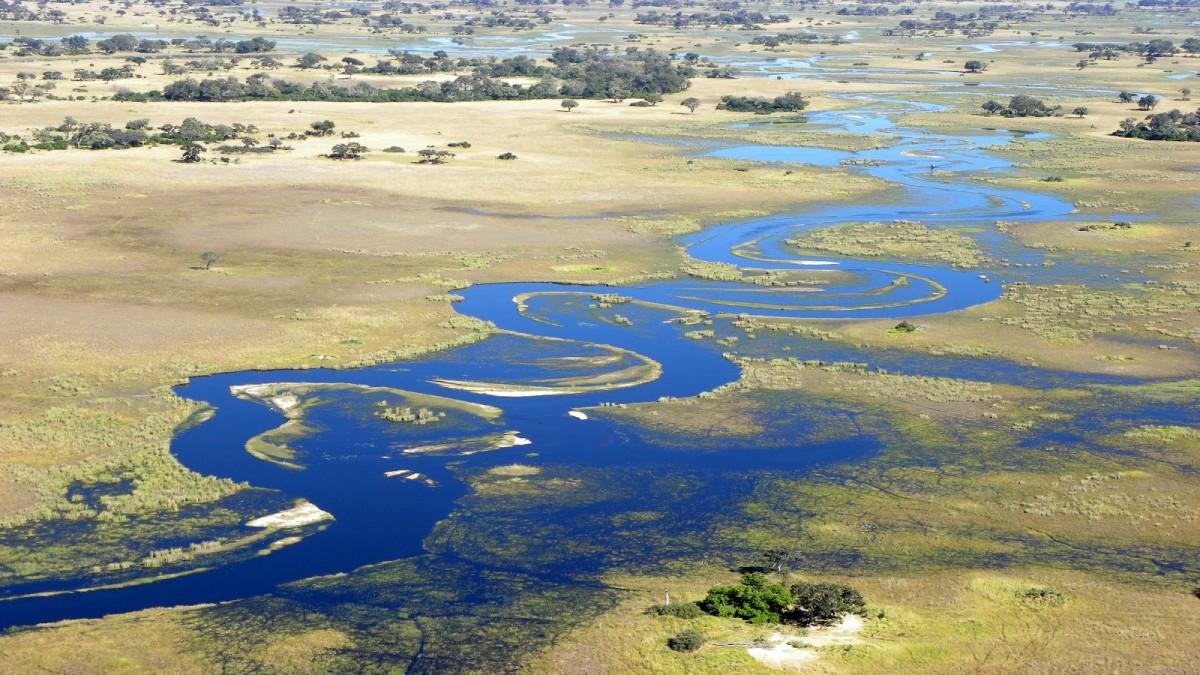 Křehká příroda v Botswaně